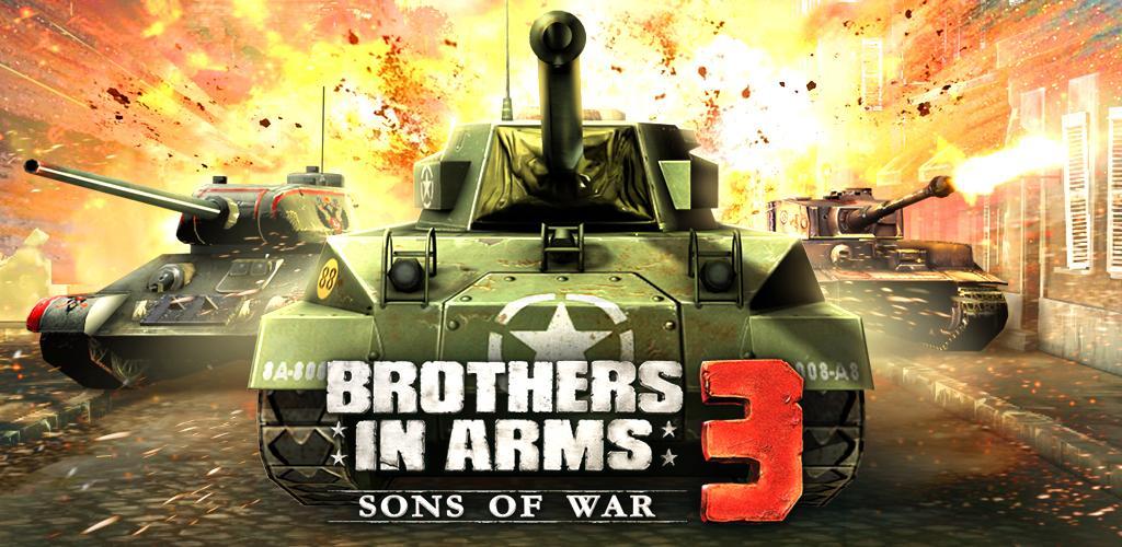 تحميل Brothers in Arms 3 1.5.1a  [مهكرة APK] للاندرويد