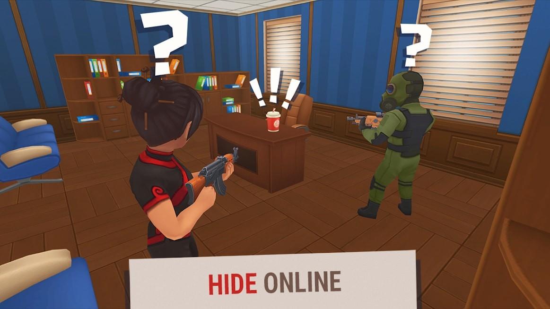 تحميل Hide Online مهكرة [MOD+APK] للاندرويد