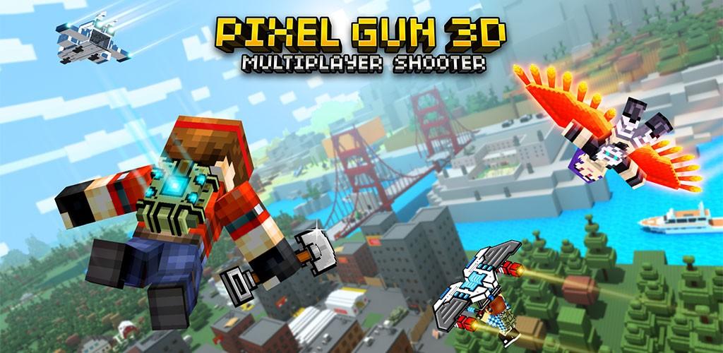 تحميل Pixel Gun 3D 17.2.0 مهكرة – (برابط مباشر ; APK ) للأندرويد