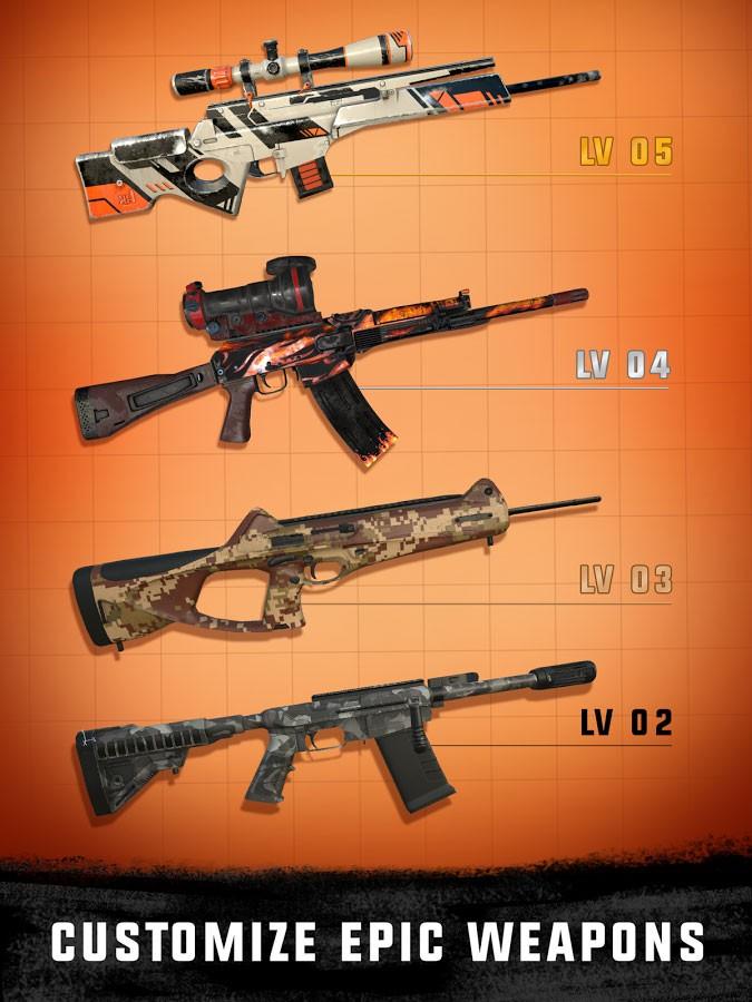 تحميل Sniper 3D Gun Shooter 3.36.1 مهكرة للأندرويد