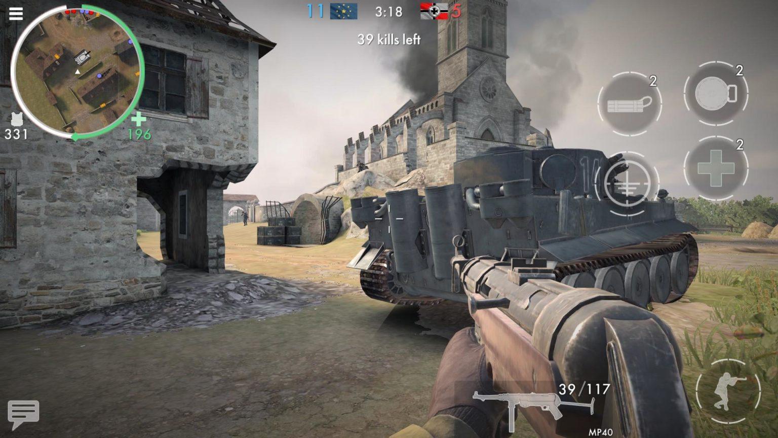 تحميل World War Heroes [مهكرة+APK] للاندرويد