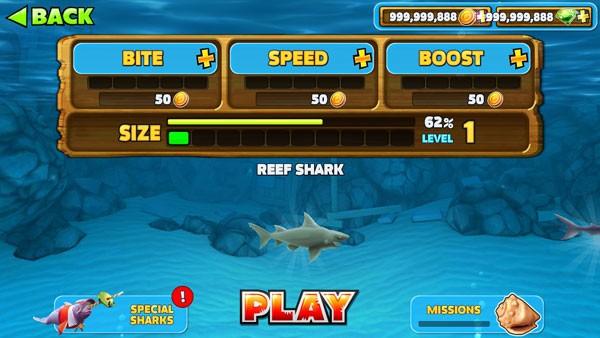 تحميل Hungry Shark Evolution 7.4.0 APK مهكرة للاندرويد