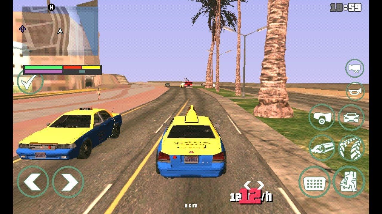 تحميل جاتا GTA SA LITE – لعبة حرامي السيارات مهكرة [2021]