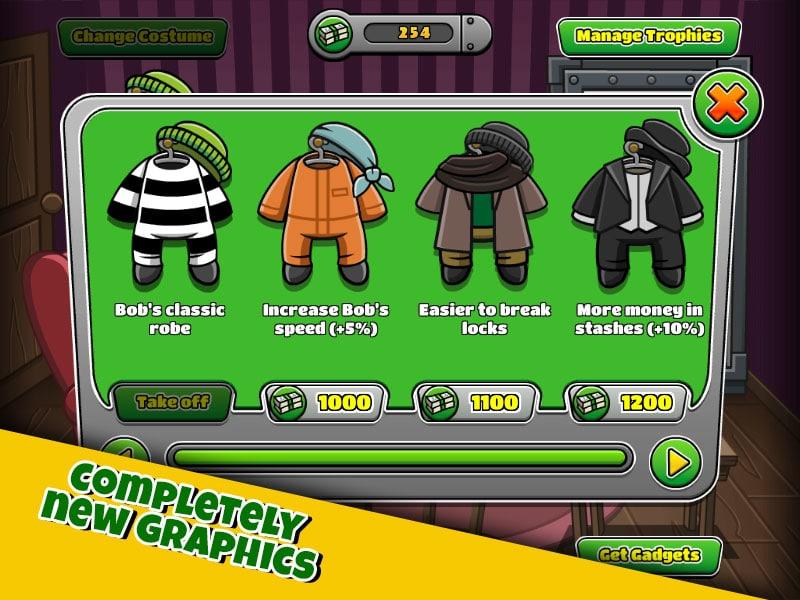 تحميل بوب سارق Bob the Robber 4 مهكرة للأندرويد