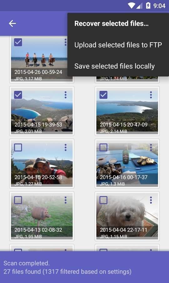 تحميل ديسك ديجر diskdigger pro لـ استعادة الصور المحذوفة