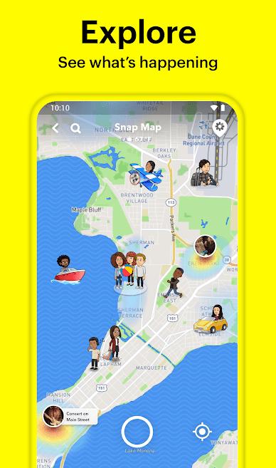 تحميل Snapchat 10.88.0.63 لـ Android برابط مباشر