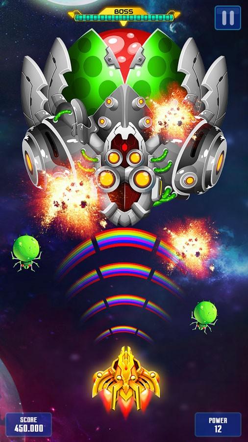 تنزيل Space Shooter: Galaxy Shooting مجانًا (android) مهكرة