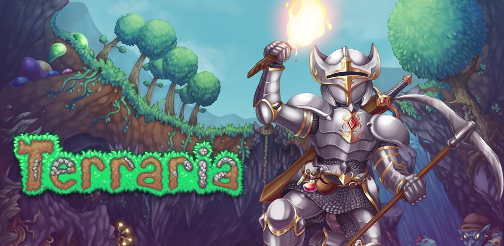 تحميل لعبة تيراريا Terraria 1.3.0.7.7 للاندرويد + مهكرة