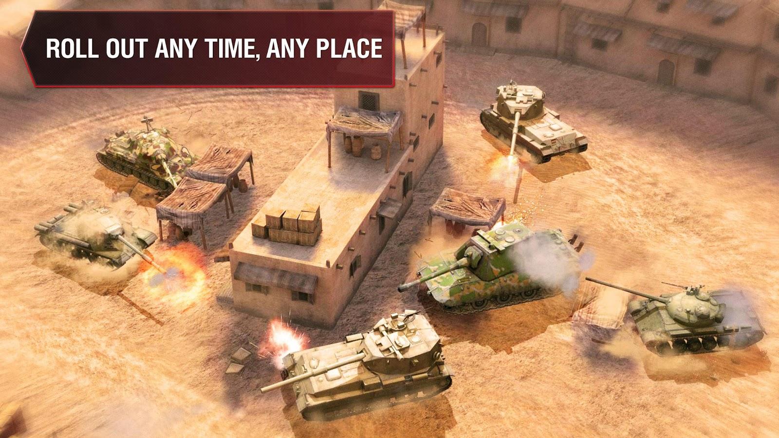 تحميل World of Tanks Blitz 6.10.0.541 APK مهكرة للأندرويد