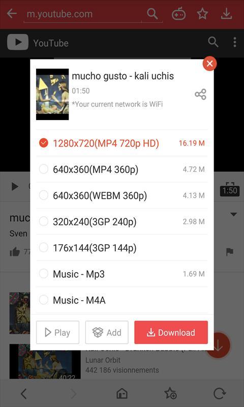 تحميل فيديو ميت VidMate 4.3524 لـ اندرويد [بدون اعلانات]