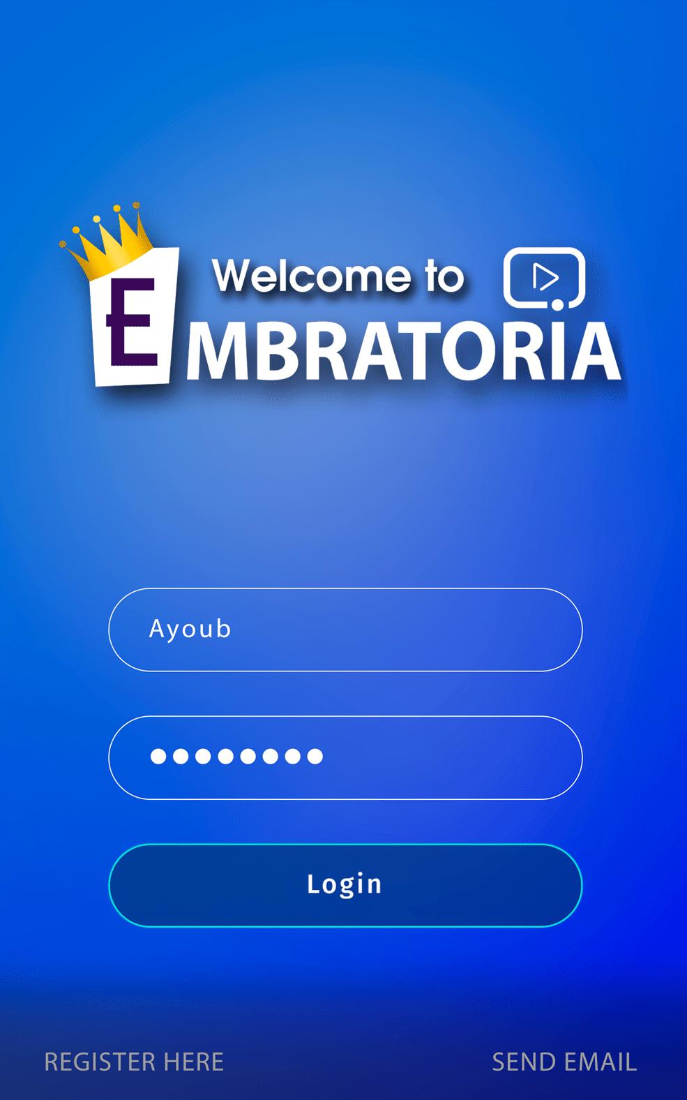 تنزيل برنامج الامبراطورية – تطبيق Embratoria لـ أندرويد