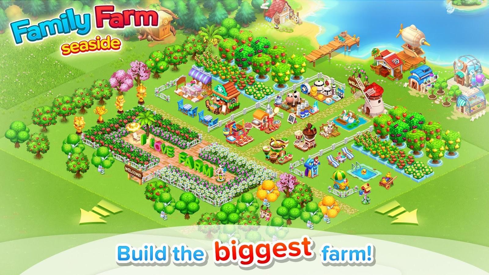 تحميل Family Farm Seaside مهكرة لـ Android برابط مباشر