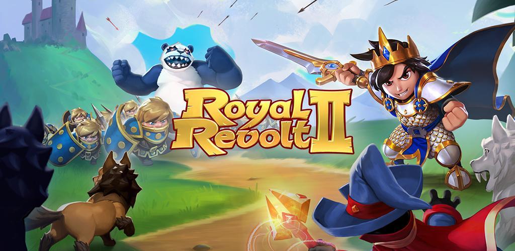تحميل Royal Revolt 2 [مهكرة + APK] لـ اندرويد
