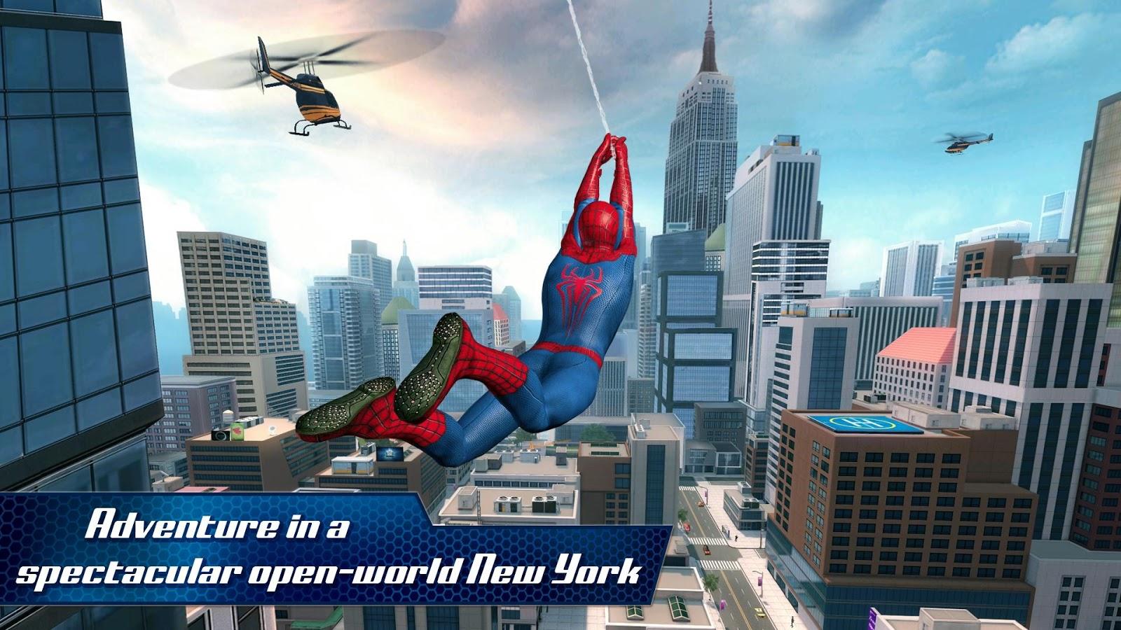 The Amazing Spider-Man 2 تحميل سبايدر مان للاندرويد برابط مباشر