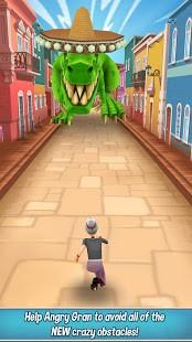 تحميل Angry Gran Run آخر إصدار [مهكرة] للاندرويد