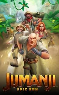 تحميل Jumanji: Epic Run اخر اصدار [مهكرة + APK] للاندرويد