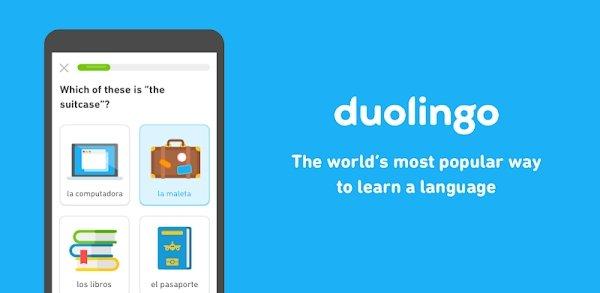 تحميل Duolingo اخر اصدار [مهكرة + APK] للاندرويد