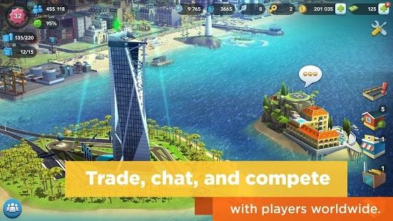 سيم سيتي SimCity BuildIt اخر اصدار [مهكرة + APK] للاندرويد
