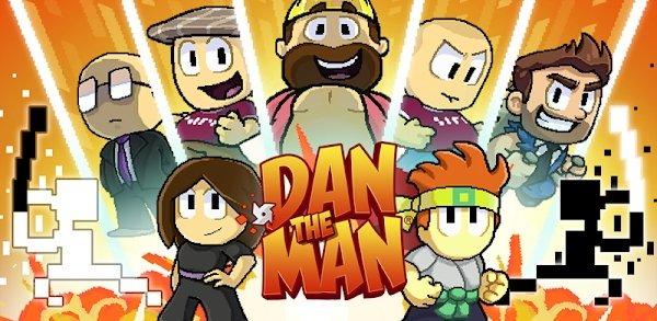 تحميل Dan The Man 1.4.48 مهكرة للاندرويد
