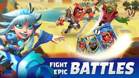تحميل Angry Birds Legends آخر إصدار [مهكرة] للاندرويد
