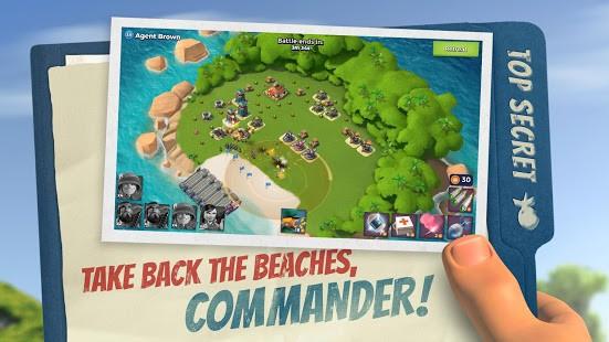 تحميل لعبة Boom Beach 43.66 مهكرة للاندرويد