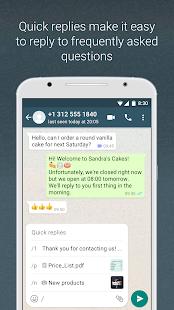 تحميل واتساب بزنس WhatsApp Business 2.20.198.7 للاندروید