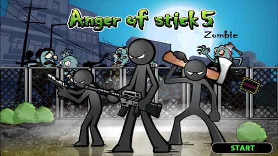 تحميل Anger of Stick 5 [مهكرة + APK] للاندرويد