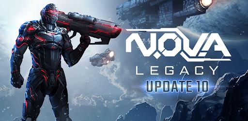 تحميل N.O.V.A. Legacy اخر اصدار [مهكرة + APK] للاندرويد