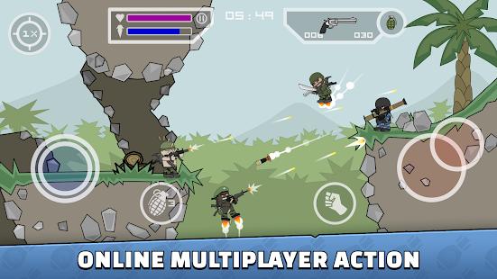 تحميل Mini Militia – Doodle Army 2 APK [5.3.0 ] MOD مهكرة