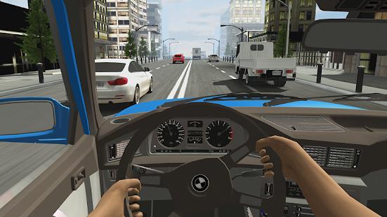 تحميل Racing in Car 2  (مهكرة+APK) للأندرويد