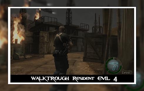 تحميل لعبة Resident Evil 4 v1.1.1  للأندرويد