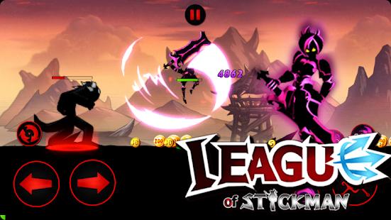 تحميل League of Stickman 2020- Ninja Arena PVP مهكرة لـ اندرويد