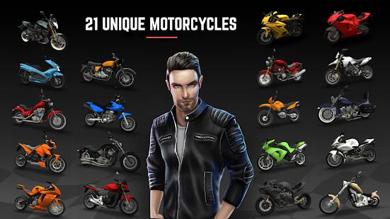 تحميل لعبة Racing Fever: Moto مهكرة لـ اندرويد