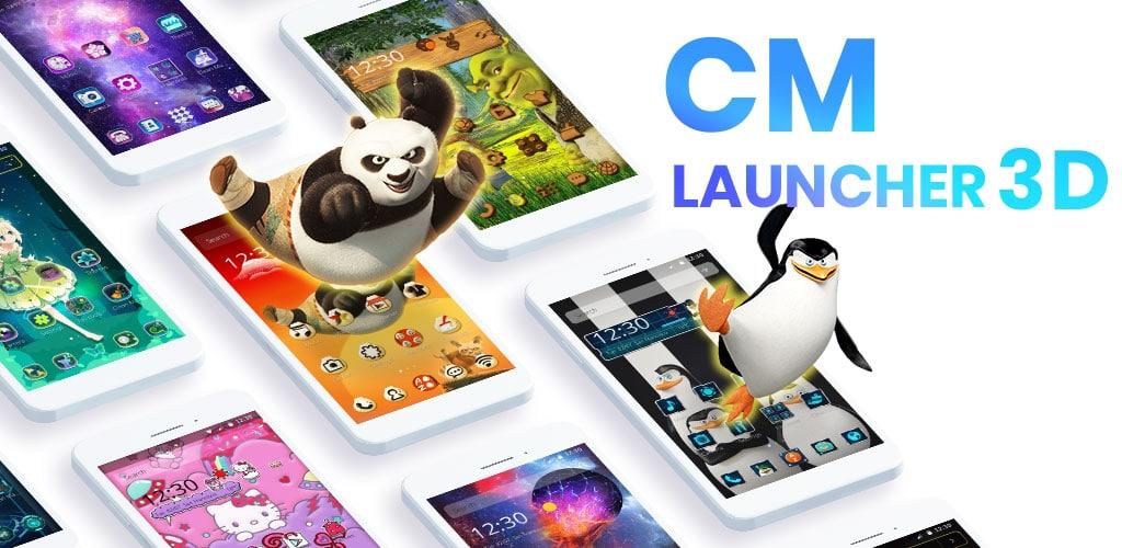تنزيل CM Launcher لانشر [APK] للأندرويد