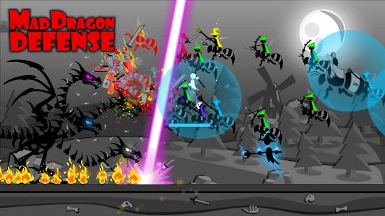 تحميل Mad Dragon Defense لـ اندرويد [مهكرة]