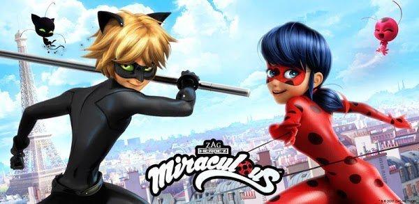 تحميل Miraculous Ladybug & Cat Noir  مهكرة لـ اندرويد