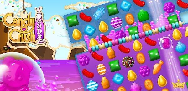 تحميل Candy Crush Soda Saga 1.170.2 مهكرة لـ اندرويد