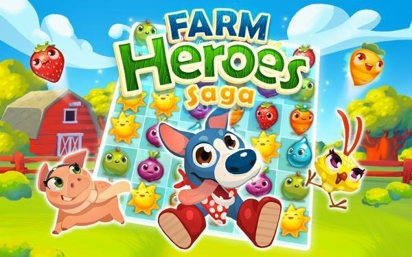 تحميل Farm Heroes Super Saga [مهكرة + APK] للاندرويد