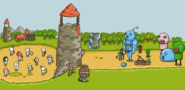تحميل Grow Castle لـ اندرويد [مهكرة]