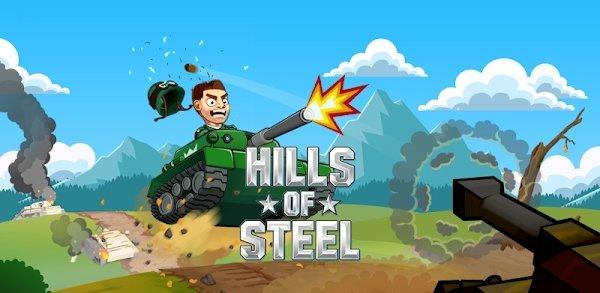تحميل Hills of Steel 2.7.0 – [مهكرة] لـ اندرويد