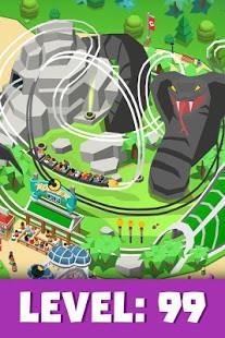 تحميل Idle Theme Park – [مهكرة] لـ اندرويد