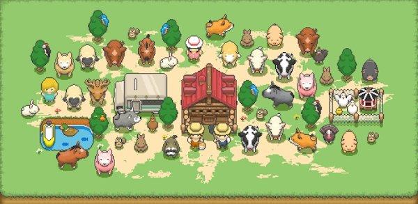 تحميل Tiny Pixel Farm لـ اندرويد