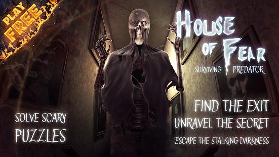 تحميل House of Fear: Surviving Predator مهكرة لـ اندرويد