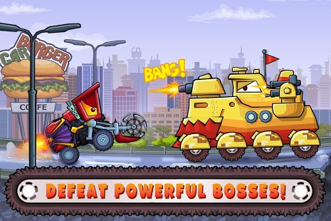 تحميل Car Eats Car 3 – Racing Game 2.4 مهكرة لـ اندرويد