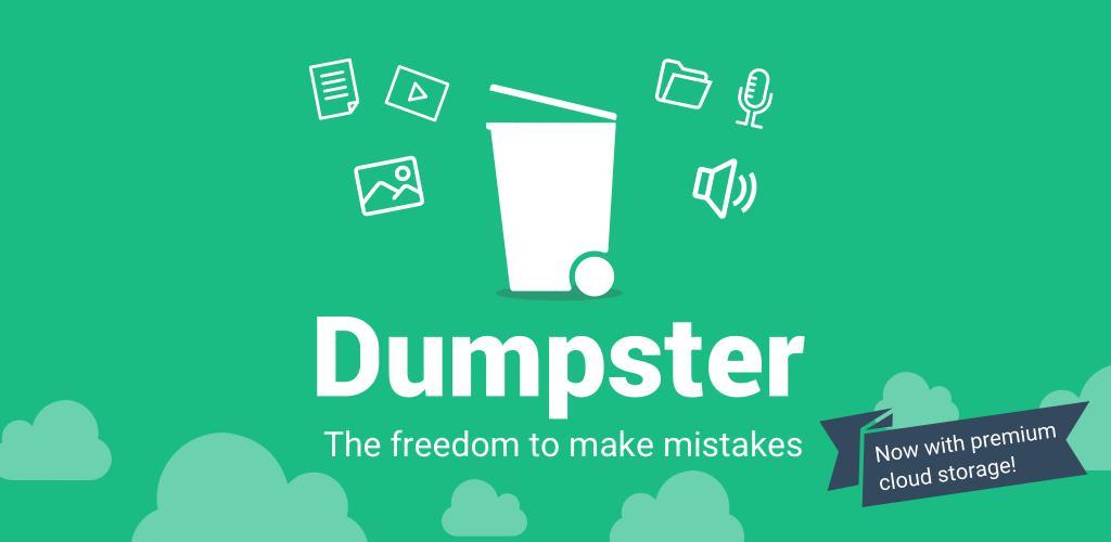 تحميل Dumpster مهكر اخر اصدار للاندرويد