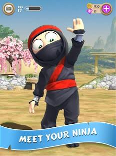 تحميل Clumsy Ninja مهكرة للاندرويد