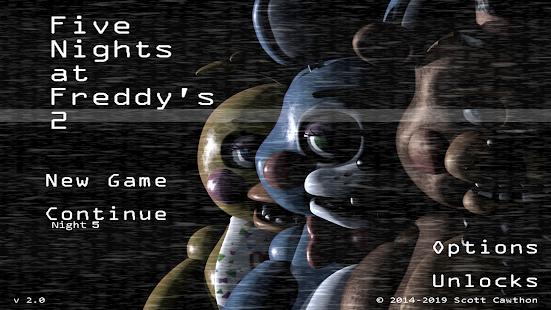 تحميل Five Nights at Freddy's 2 مهكرة لـ اندرويد