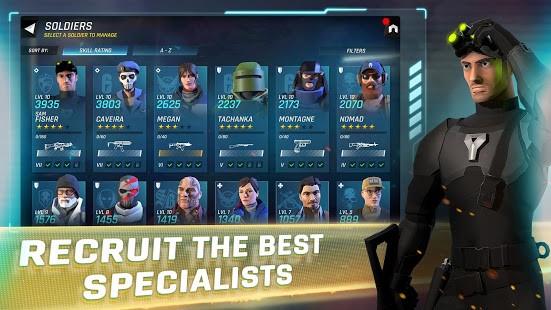 تحميل Tom Clancy's Elite Squad مهكرة لـ اندرويد