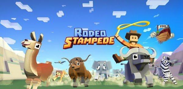 تحميل Rodeo Stampede مهكرة للاندرويد