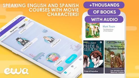 تحميل تطبيق  EWA  – تعلم اللغة الإنجليزية لـ اندرويد